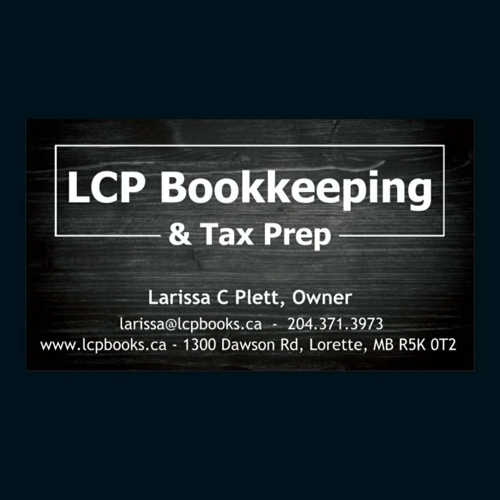 LCP card front square